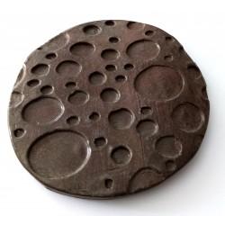 Savoniera ceramica rotunda
