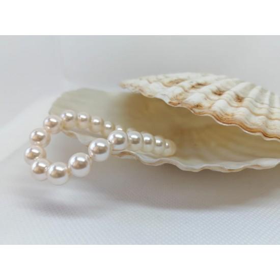 Bratara cu perle made by Swarovski®
