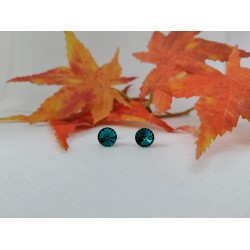 Cercei otel inoxidabil cu Cristal de 8 mm Made by Swarovski®