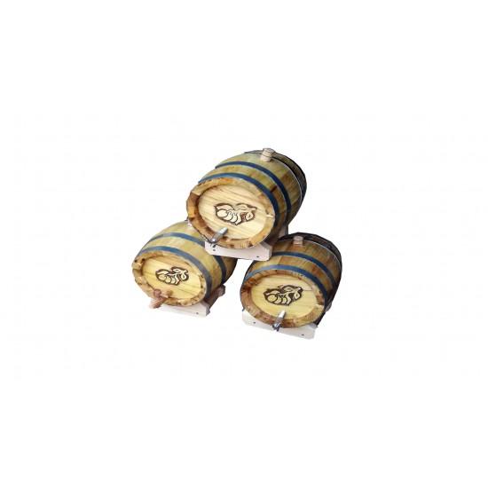 Butoi stejar pentru palinca 5 - 300 l