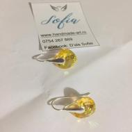 Cercei Ileana din argint 925 și cristale Swarovski