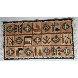 Carpetă vopsită vegetal